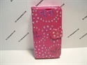 Picture of Lenovo Vibe B Pink Floral Diamond Wallet Case