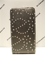 Picture of Nokia Lumia 620 Black Glitter Leather Case