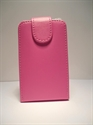 Picture of Samsung Galaxy Y Pro B5510 Pink Leather Flip Case