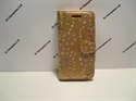 Picture of Nokia 5 Gold Floral Glitter Leather Wallet Case