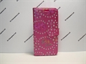 Picture of Huawei Honor 9 Pink Floral Glitter Leather Wallet Case