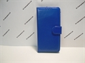 Picture of Huawei Y6 2018 Blue Leather Wallet Case