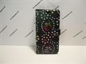 Picture of iPhone X Black Floral Diamond Leather Wallet Case