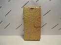 Picture of Huawei P20 Lite Gold Floral Glitter Leather Wallet Case