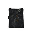 Picture of Black Classic Cross Body Pouch Bag With Zip Front