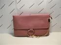 Picture of Wristlet Clutch Bag With Ring Detail Chain Rose