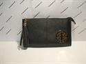 Picture of Wristlet Tassel Clutch Bag With Metal Detail
