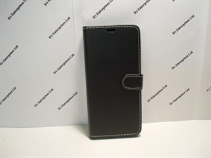 Picture of Huawei P30 Pro Black Leather Wallet Case