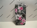Picture of Huawei Y7 2019 Grey Floral Leather Wallet Case