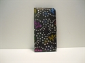 Picture of Huawei P20 Pro Black Floral Glitter Leather Wallet Case