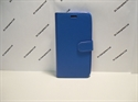 Picture of Galaxy J3 2016 Blue Leather Book Wallet Case