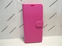 Picture of Galaxy A8 2018 Pink Leather Book Wallet Case